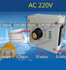 4000W  AC 220V Variable Voltage Controller For Fan Speed Motor Control Dimmer