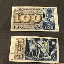 Suisse 100 Francs  21-12-1961 26X71341 TTB Switzerland