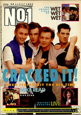 NO 1 NUMBER ONE 1987 THEN JERICO RICK ASTLEY WHITNEY WET WET WET POISON CHRISSIE
