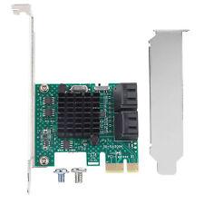 PCIe PCI Express 6G SATA 3.0 4-Puerto Adaptador De Tarjeta Controladora Sata III Expansión