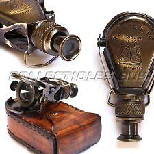 Antique R & J Beck London 1857 Brass Spyglass Monocular Pocket Maritime Scope
