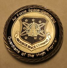 AF Space Command Kevin P Chilton Air Force Challenge Coin