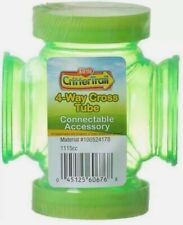 Kaytee Critter Trail 4 Way Cross Tube Connectable Accessory Fun-Nel Tube