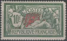 """FRANCE STAMP TIMBRE N° 207 """" TYPE MERSON 10 F VERT ROUGE """" NEUFxx TB A VOIR K179"""