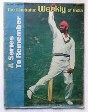 The Illustrated Weekly of India 5th Feb 1978 A Series To Remember CRICKET