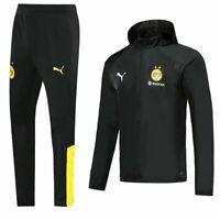 Borussia Dortmund Mens Sports Jersey Jacket Tracksuit Hoodie Windbreaker Sets