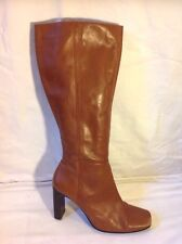 Dorothy Perkins Brown Knee High Leather Boots Size 7
