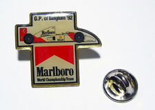 Marlboro Pin Badge Grand Prix of Belgium 1992 McLaren Honda Senna Prost Berger