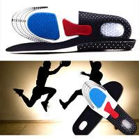 Paire Unisexe Semelle Gel Absorption Choc Confort Chaussures Intérieur Sport NF