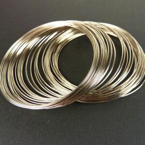 Memory Wire Bracelet Bargain Pack 5.5cm Silver