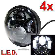 LED 5-3/4-Inch Headlight 4pc Set Upgrade Kit exterior light For Ford/Mercury
