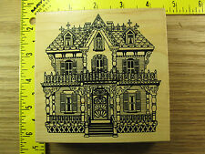 Rubber Stamp PSX Victorian Home House K1544 Beautiful! Stampinsisters #1853
