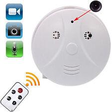 caché Ausgeblendet Caméra fumée détecteur de mouvements video enregistreur HD