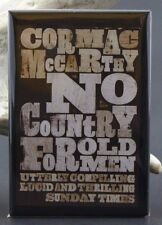 No Country For Old Men Book Cover - Fridge / Locker Magnet. Cormac McCarthy