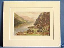St. Kevin's letto LAKE glendalough Leinster Irlanda 10x8