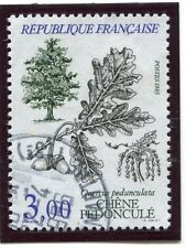 TIMBRE FRANCE OBLITERE N° 2386 FLORE / QUERCUS PEDUNCULATA