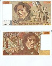 Gertbrolen 100 FRANCS EUGENE  DELACROIX de 1984   E.75 Billet N° 1854726016