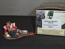 King and Country crw17 93rd Highlander ferito di Crimea in metallo giocattolo Soldato Figura