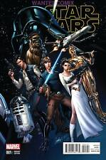 STAR WARS #1 J SCOTT CAMPBELL 1:50 VARIANT COVER MARVEL COMIC BOOK 2015 NEW  NM