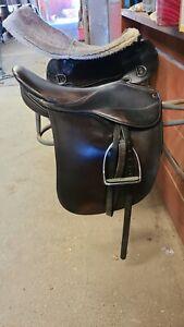 """Arabian Saddle company saddleseat saddle cutback 20"""""""