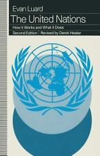 United Nations : How It Works and What It Does by Evan Luard (1994, Paperback)