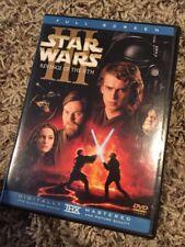 Star Wars Revenge Of The Sith Full Screen DVD