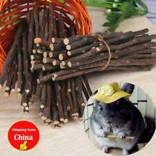 50g Wood Chew Sticks Twigs for Small Pets Rabbit Hamster Guinea Pig Parrot Toy