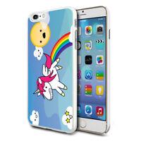 para Varios Teléfonos Diseño Duro Estuche de piel la cubierta - Unicornio en Sky