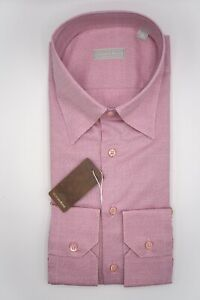 NEW STEFANO RICCI  Dress Shirt  Size 17.75 Us 45  Eu  (Cod L805)
