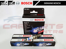 FOR MITSUBISHI SHOGUN PININ 1.8 GDI 2.0 BOSCH SUPER 4 SPARK PLUGS SET SUPER4 x4