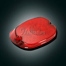 Red LED Tail Light For Harley Touring Electra Street Glide Road King 99-up