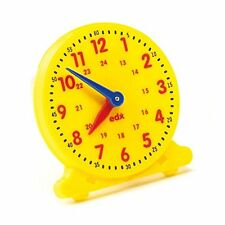 Teach the time 24 hour student clock 11cm Learning Resource Maths Home Education