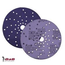 3M Cubitron™ II Hookit™ Purple+ Premium Schleifscheibe Multihole 737U 150mm P80
