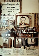 Magnavox Television 1953 Ad Spring Showing Brochure Tv Upper Darby Pa
