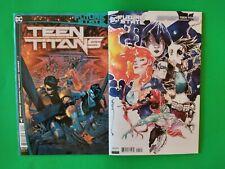 Future State Teen Titans #1 cover A + B🔥 1st app Red X + Cybeast Vf/Nm ~ Nm
