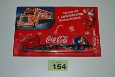 Coca Cola Christmas Truck Holidays Are Coming TV Advert Santa Xmas Lorry #154