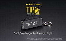 NiteCore TIP2 2x Cree XP-G3 USB Rechargeable Pocket Keychain Magnetic Torch