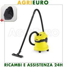 Aspirapolvere aspiraliquidi Karcher WD 2 - aspiratore con bidone 12 lt, 1000 W