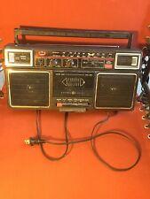 Vintage Ge General Electric Model 3-5452A Ac/Dc Am/Fm Stereo/Cassette Recorder