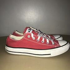 Converse Lo-Tops Size 6 Red & White Converse All Stars