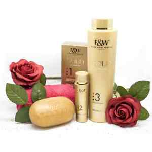 Fair and White Gold Ultimate 3 Set (serum Soap Lotion)