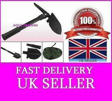 FOLDING SHOVEL / SPADE WITH PICK FOR METAL DETECTING/CAMPING GREAT  4 TOOL IN 1.