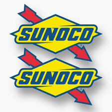 Vintage Sunoco Gas Station Fuel Oil Decal Sticker 260 Action