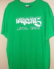 MAROON 5 ~ Exclusive Backstage Crew Concert T-Shirt XL ~ NEW
