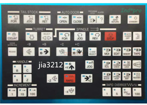 Operating Membrane Overlay for HYUNDAI KIA MODEL SKT CNC Lathe Membrane Keypad