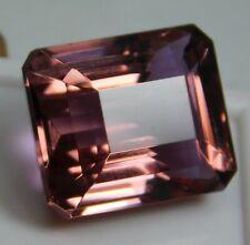 33.55Ct Natural Beautiful Emerald Cut Color Changing Alexandrite Loose Gemstone!
