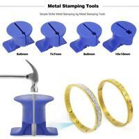 Metal Stamping Fixture Handguard Simple Strike Jig for DIY Jewelry Making KIts