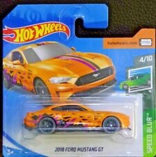 Hot wheels 2018 Ford Mustang  GT Speed Blur 4/10 2019 113/250 FYD37-D520