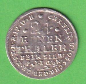 Stolberg Christoph Friedrich 1/24 Taler 1724 Ausbeutemünze Hirsch stampsdealer