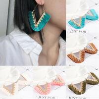 Bohemian Ethnic Long Tassel Fringe Boho Ear Stud Dangle Women Earrings Jewelry